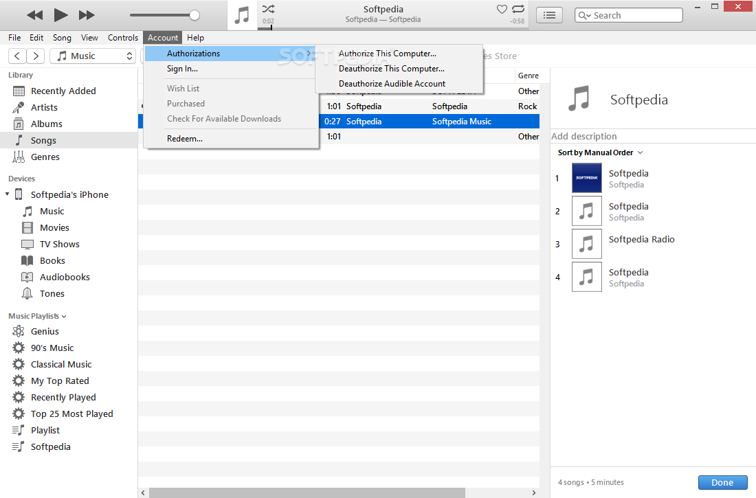 itunes 12.8 pour windows 7