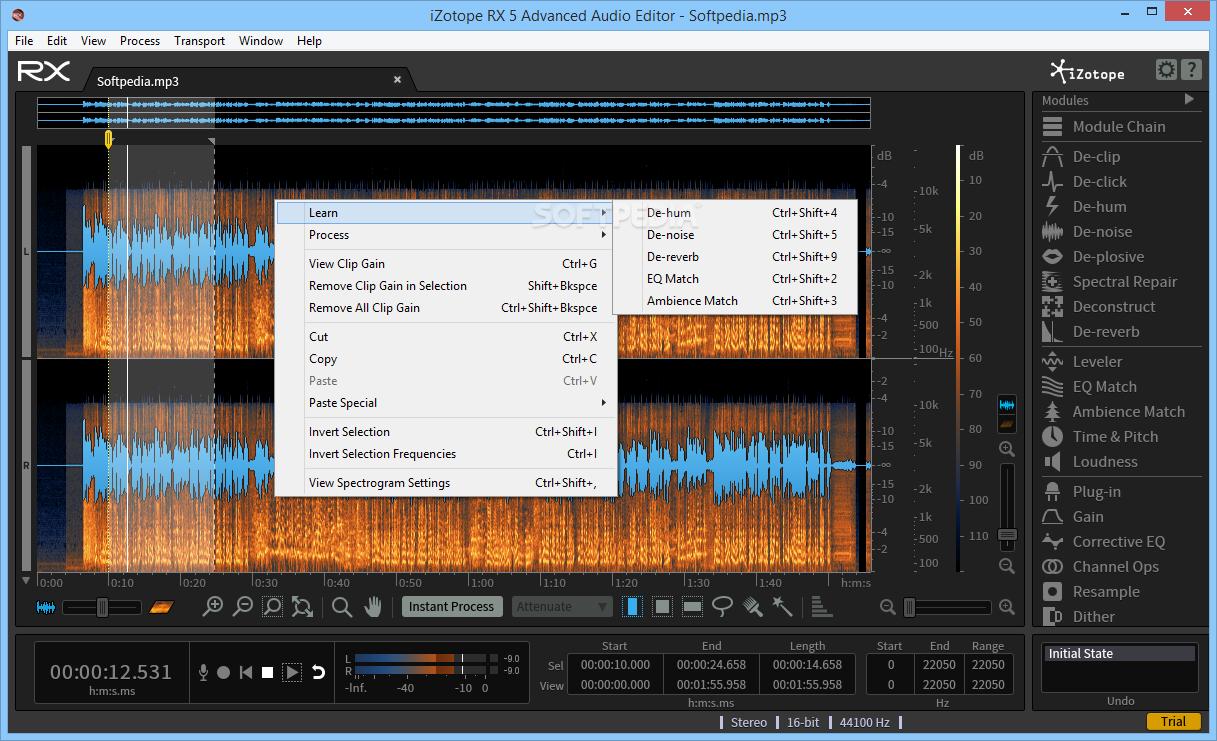 Download iZotope RX Advanced Audio Editor 6 10 Build 2340