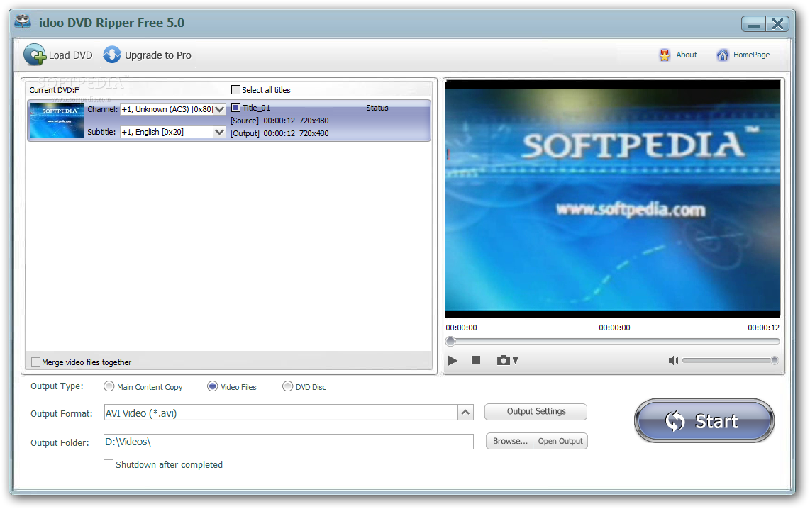 WinX DVD Ripper (Free) - Rip DVD to MP4 AVI iPhone Android