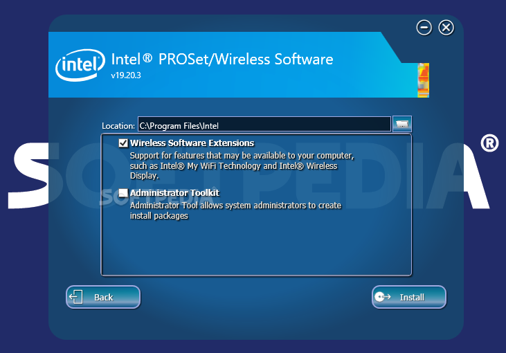 Download intel proset/wireless wifi software 20. 110. 0.