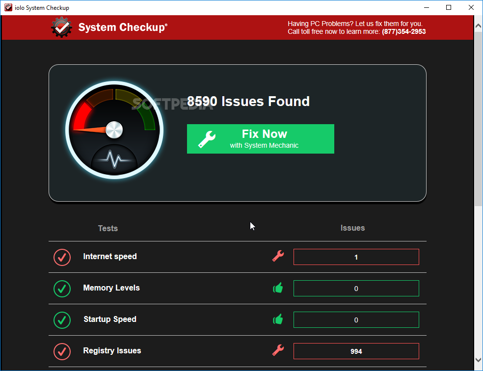 Download Iolo System Checkup 5 0 3 226