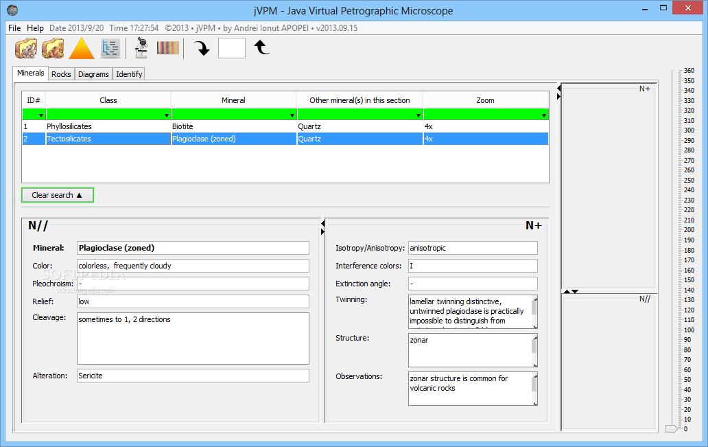 petrograph software