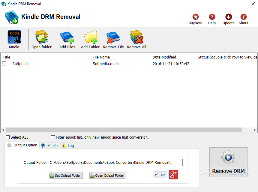 Download Kindle DRM Removal 4 19 626 385