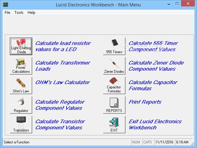 electronics workbench windows 7