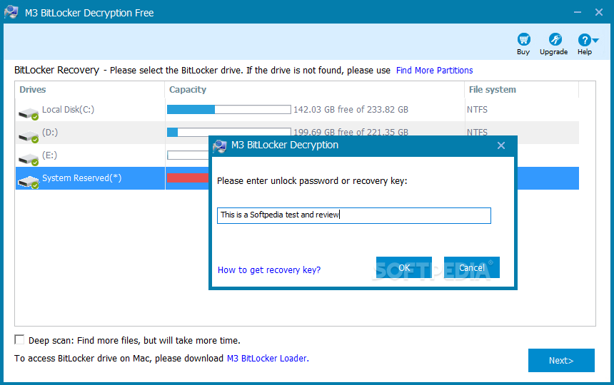 Download M3 BitLocker Decryption 5 8