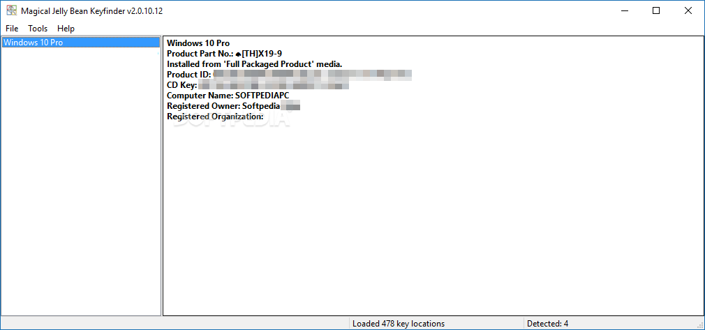 windows product key finder professional download