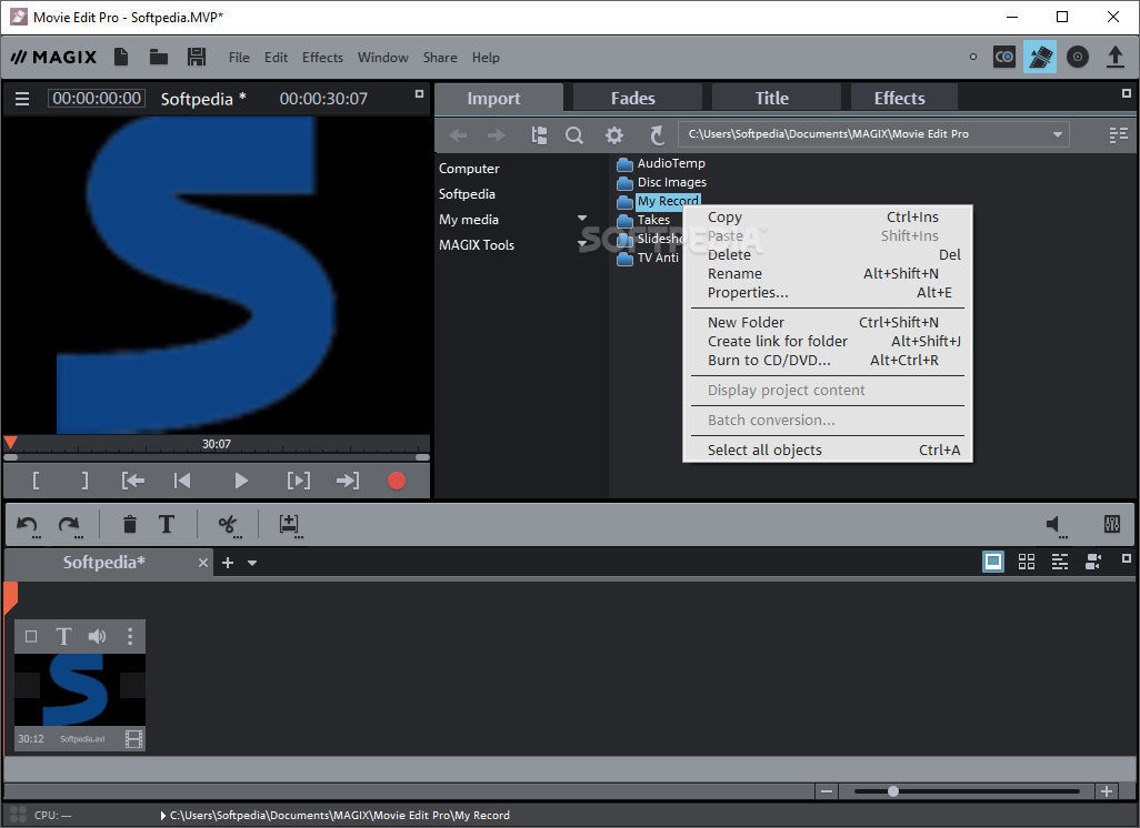 Download Magix Movie Edit Pro 2019 1802235