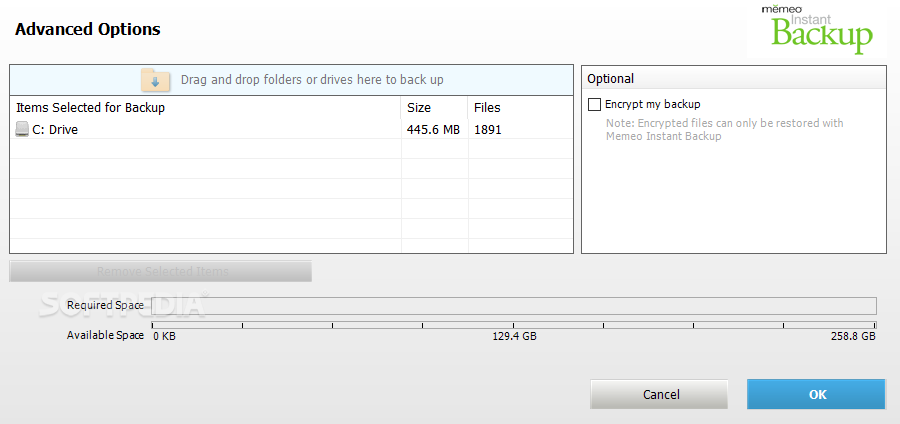 Download Memeo Instant Backup (formerly Memeo Backup) 4 70 0 7974