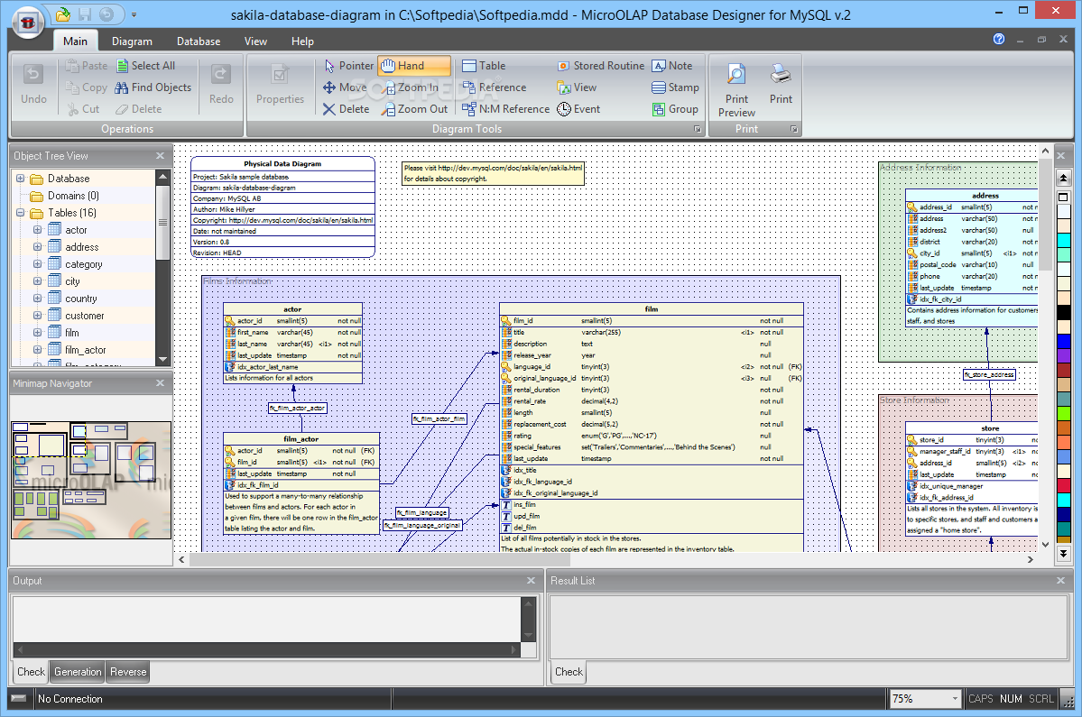 Download MicroOLAP Database Designer for MySQL 2 1 9 Build 1069
