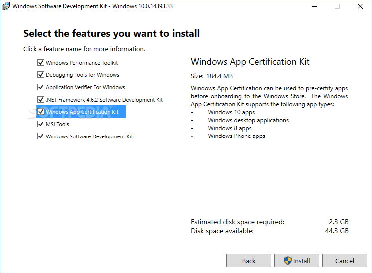 Download Microsoft Windows SDK 10 1 17134 12 / Build 18950 Insider