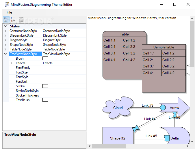 Download MindFusion Diagramming for WPF 3 5 5