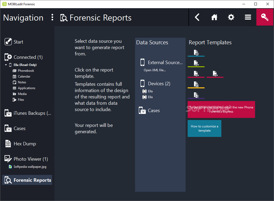 mobiledit forensic review