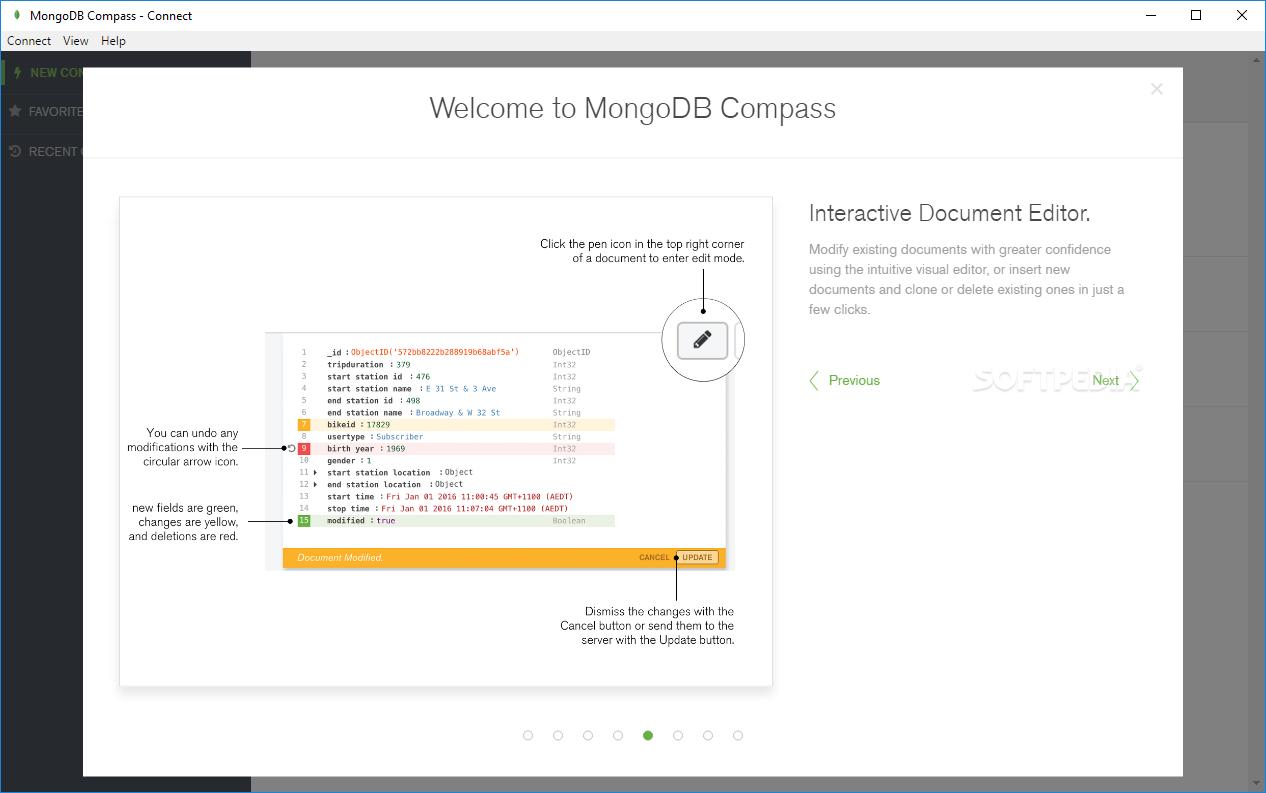 Download MongoDB Compass 1 19 0
