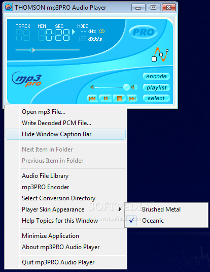 download mp3pro: