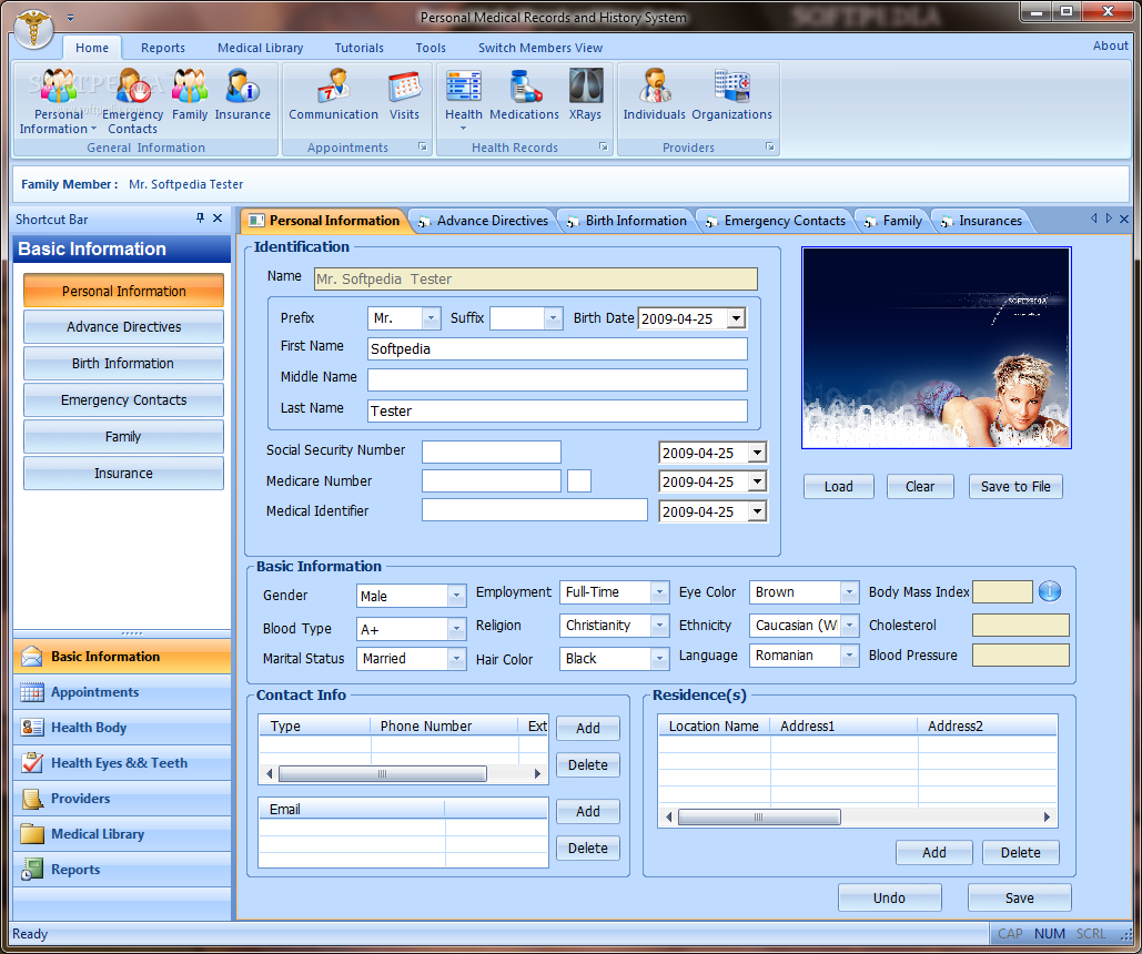 patient management software free download