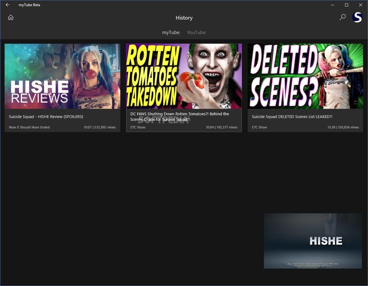Download myTube Beta 3 9 14 0