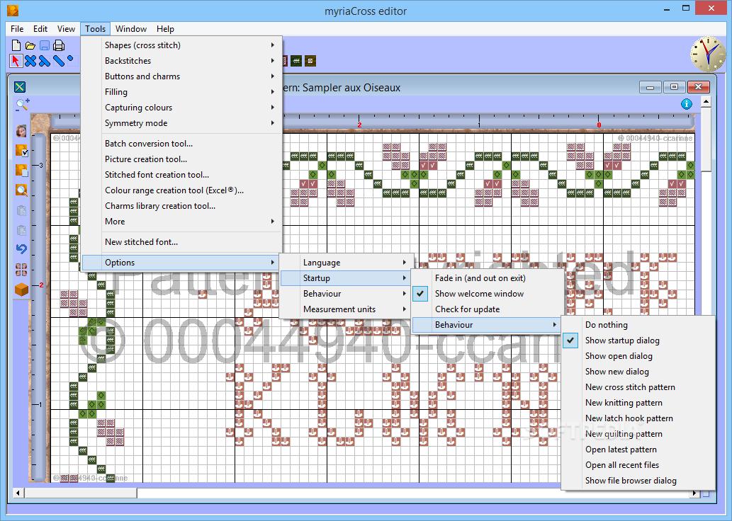 Download myriaCross editor 1.58