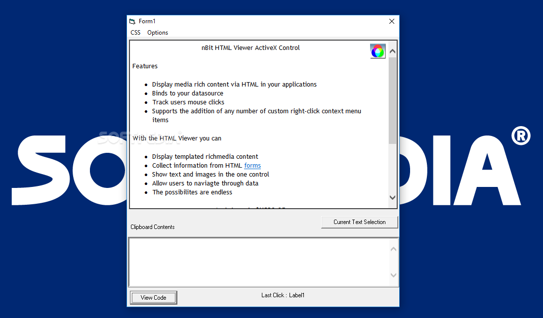 Download nBit HTML Viewer ActiveX 1 7