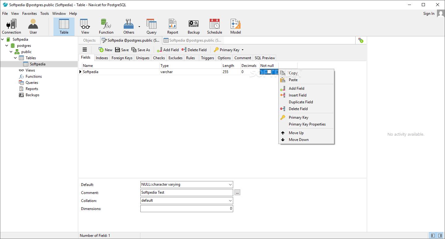 Download Navicat for PostgreSQL 12 1 22