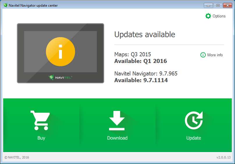 Download Navitel Navigator update center 2 3 0 30