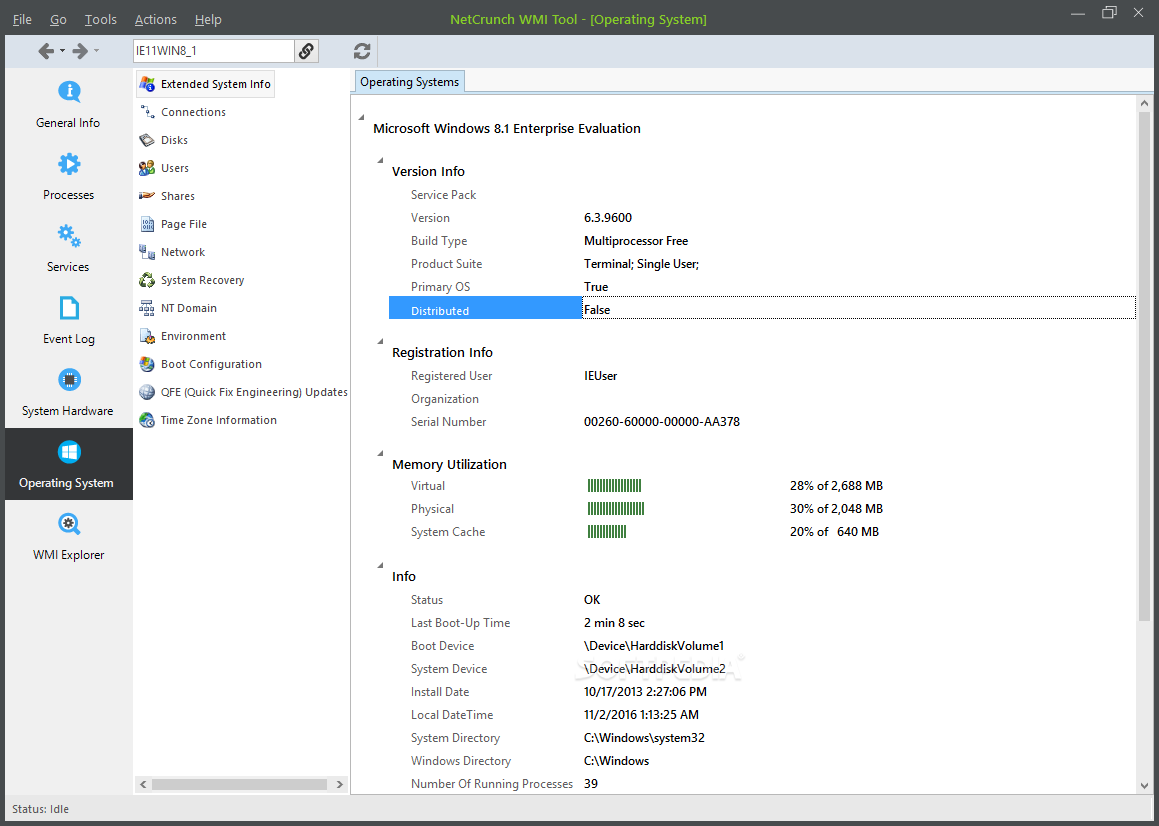 Download NetCrunch WMI Tool 8 0 0 16