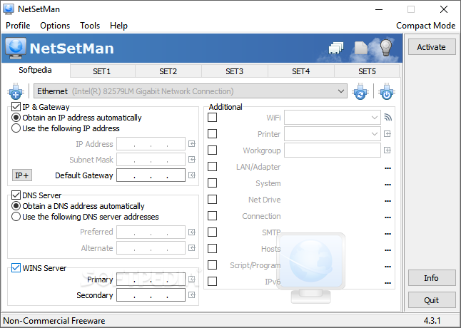 netsetman license
