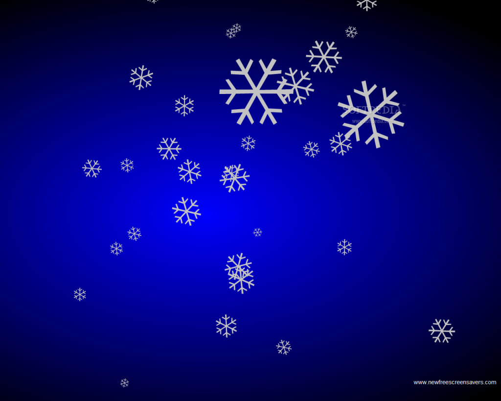 Картинки падающих снежинок анимация