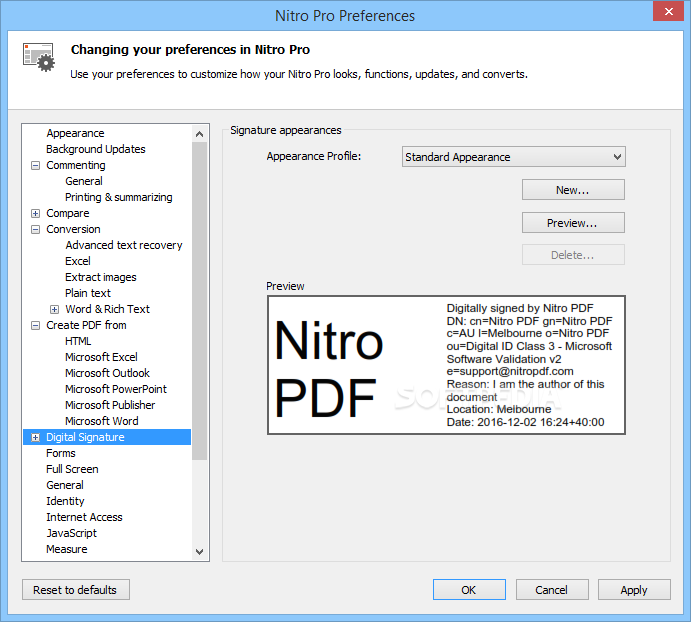 Download Nitro Pro 12 16 0 574