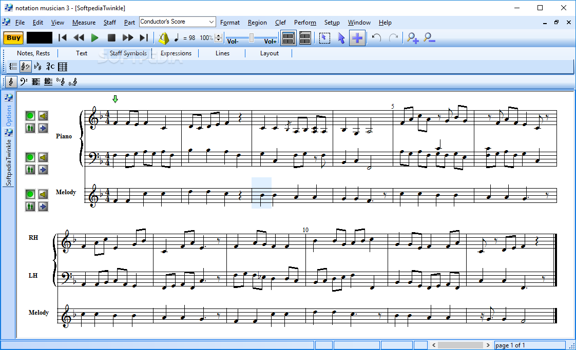 sheet music writing software Share, download and print free sheet music for piano, guitar, flute and more on the world's largest community of sheet music creators.