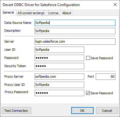 DRIVER FOR ODBC SALESFORCE