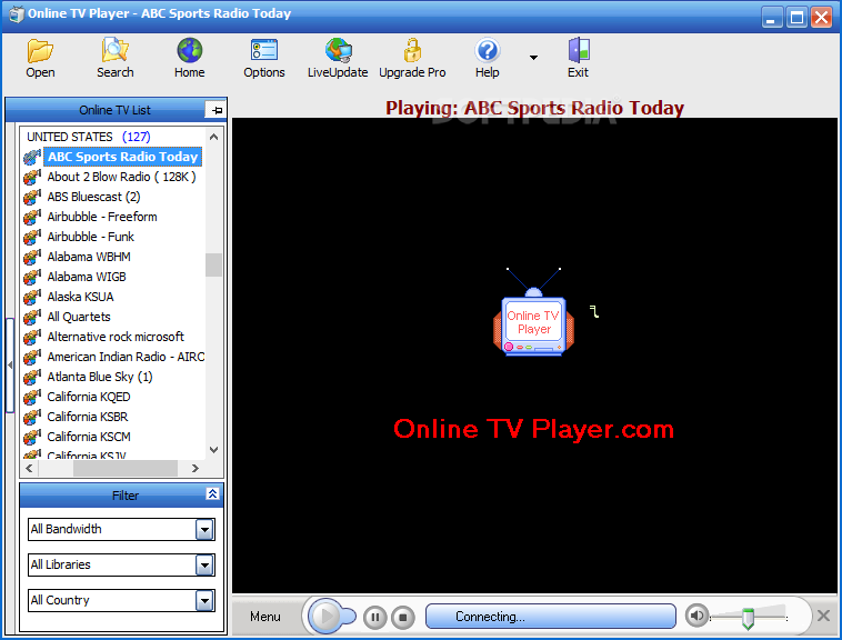 online tv player 4.9.5.0