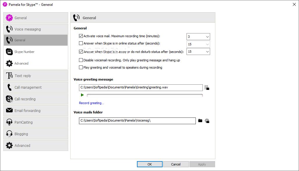 Download Pamela for Skype Professional Version 4 9 0 80
