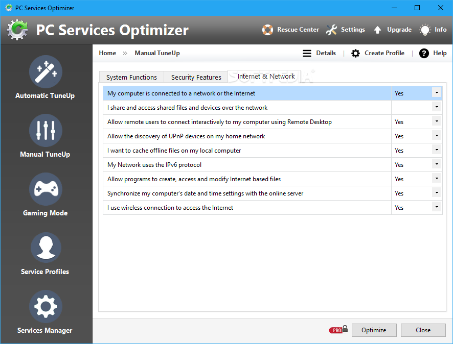 PC Optimizer Pro is a rogue optimization tool on Microsoft Windows. It also makes a fake