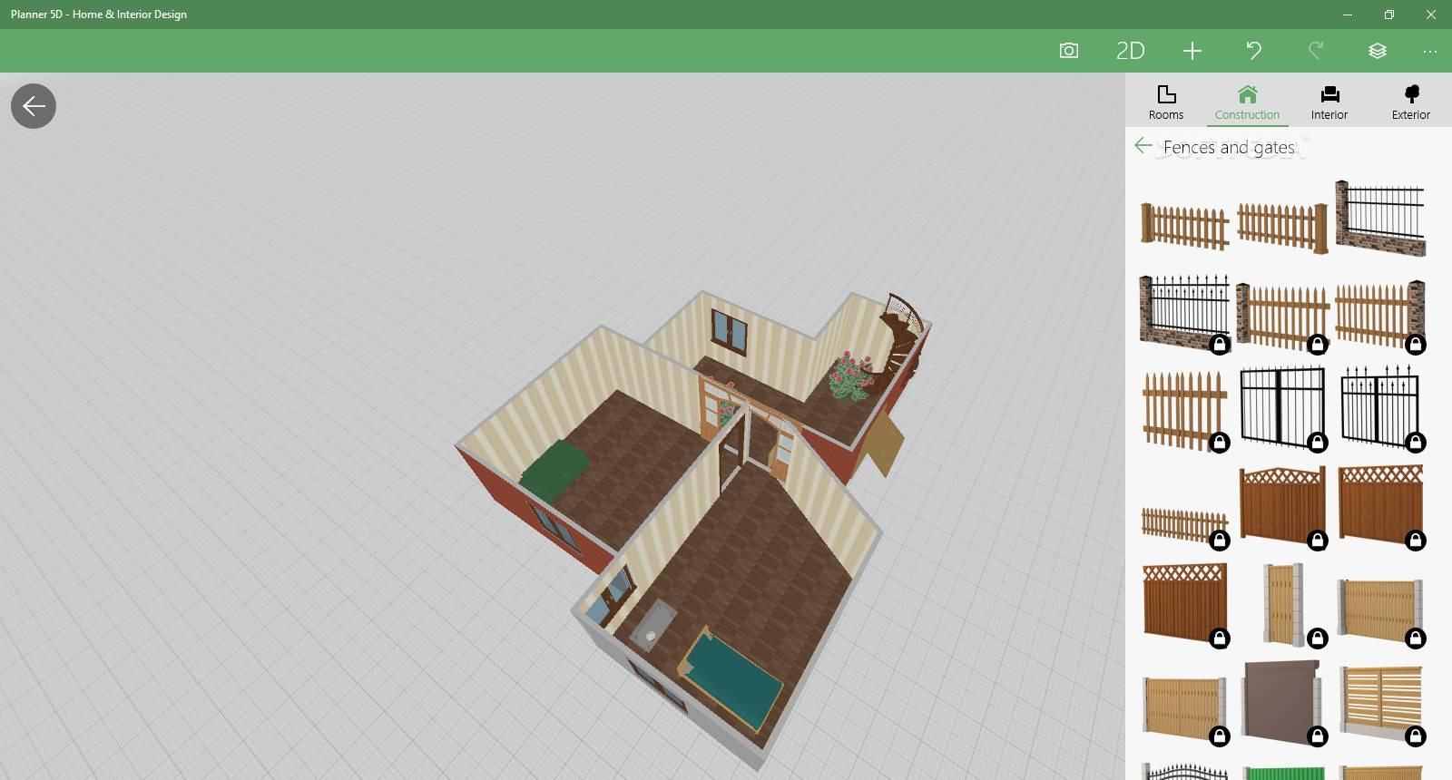 Planner 5d home interior design for windows 10 download for Home planner