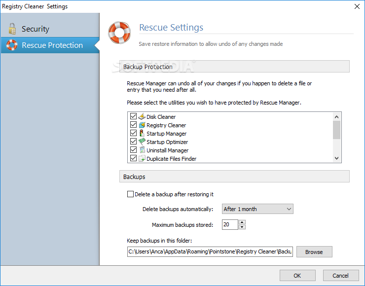 how to run registry cleaner