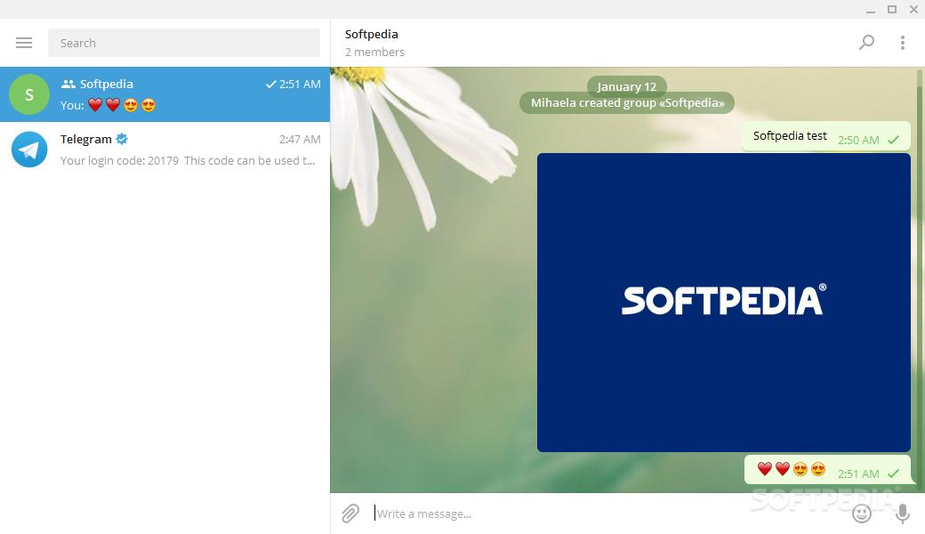 Download Portable Telegram Desktop 1 8 4 / 1 8 5 Beta