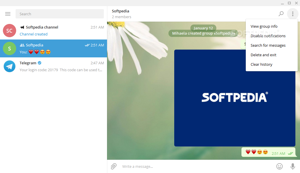 Download Portable Telegram Desktop 1 8 1