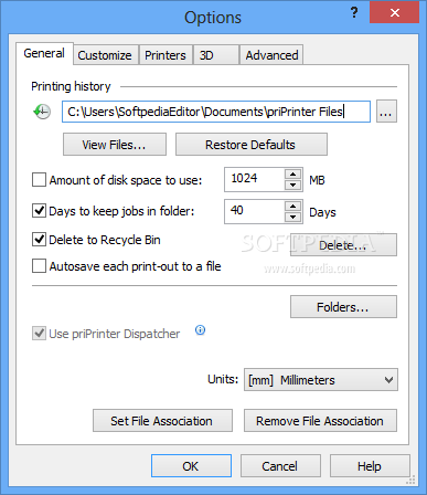priPrinter screenshot 10