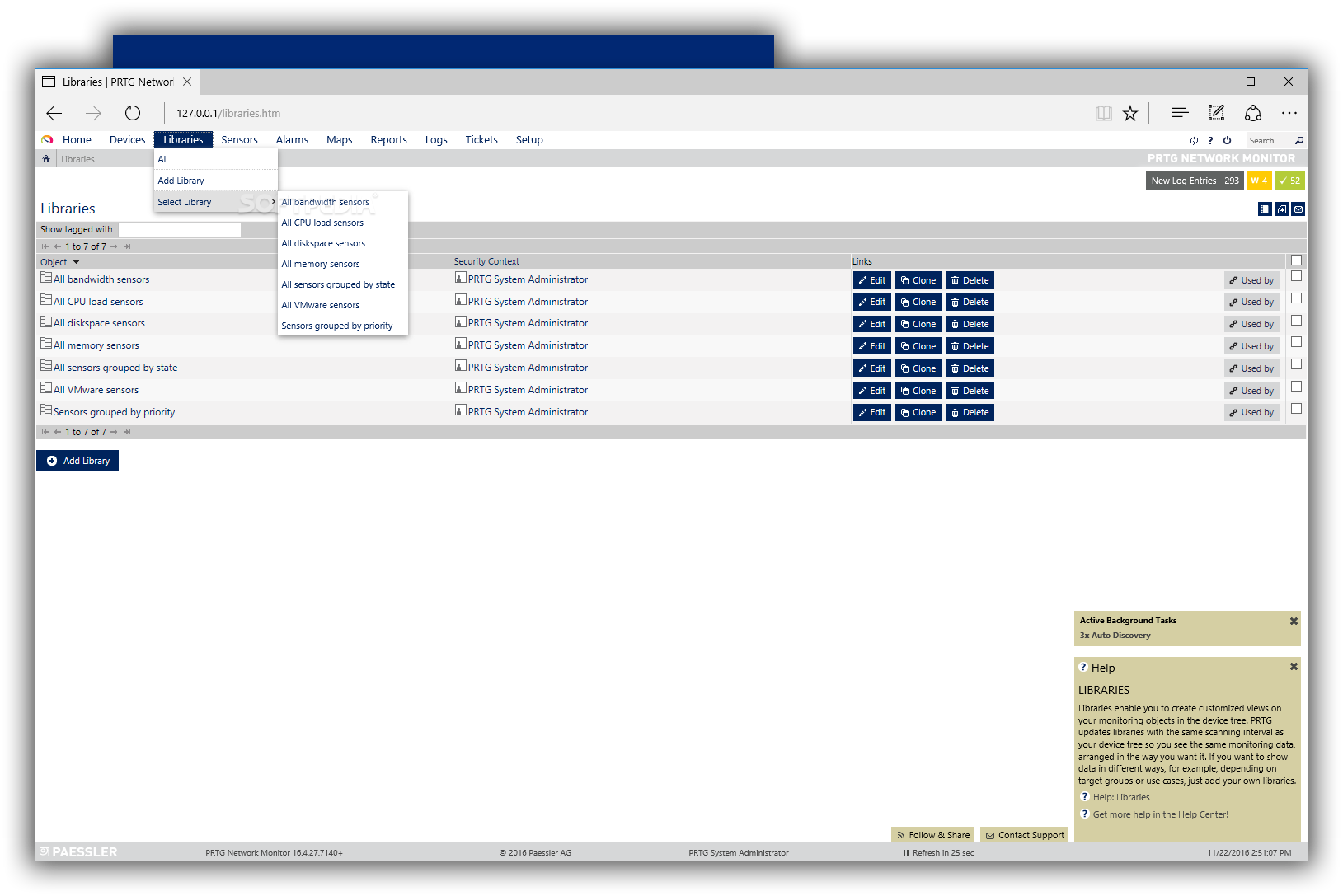 Download PRTG Network Monitor 19 2 51 2725 / 19 22 3 Beta