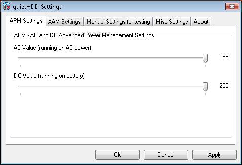 Download quietHDD 1.5 Build 250