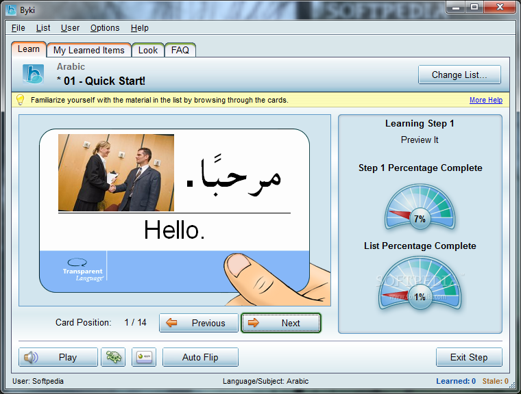 Before you know it learn arabic
