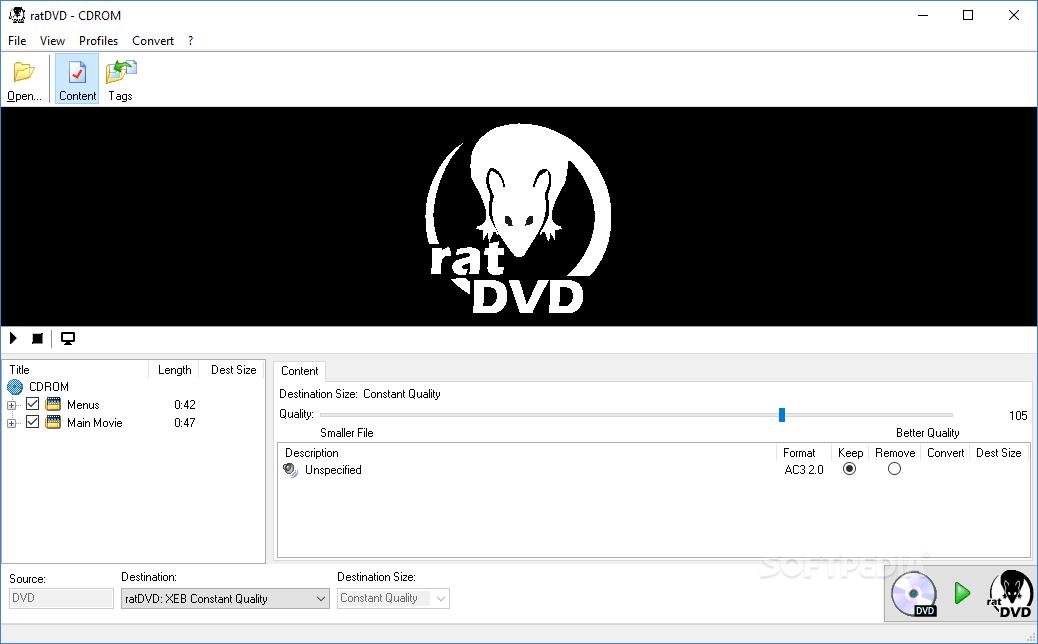 Download ratDVD 0.78.1444