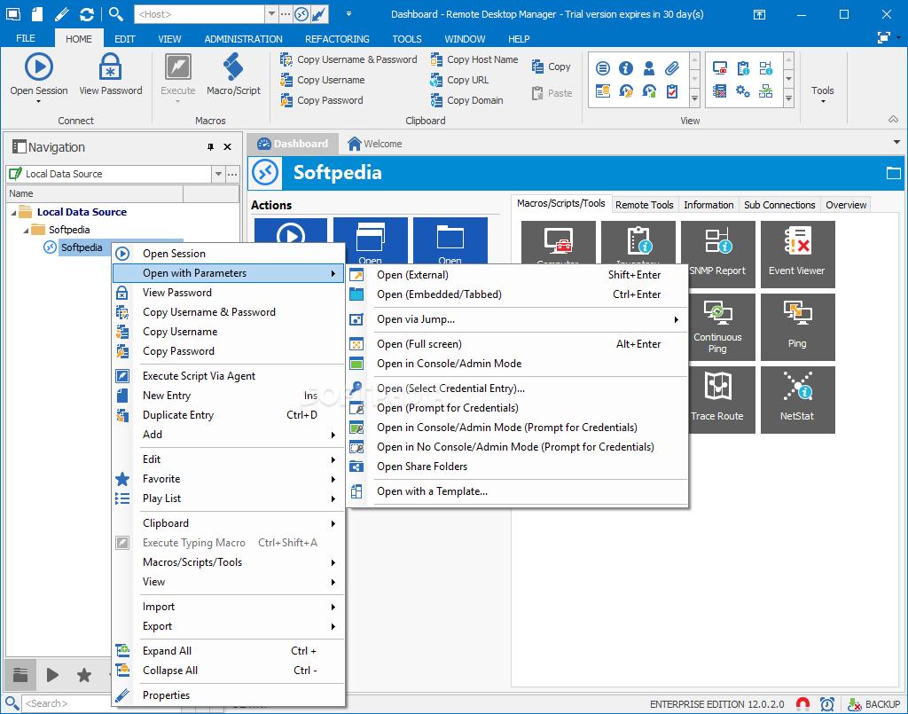 Remote Desktop Manager Enterprise v14 1 3 0 | PC Softwarez You Need