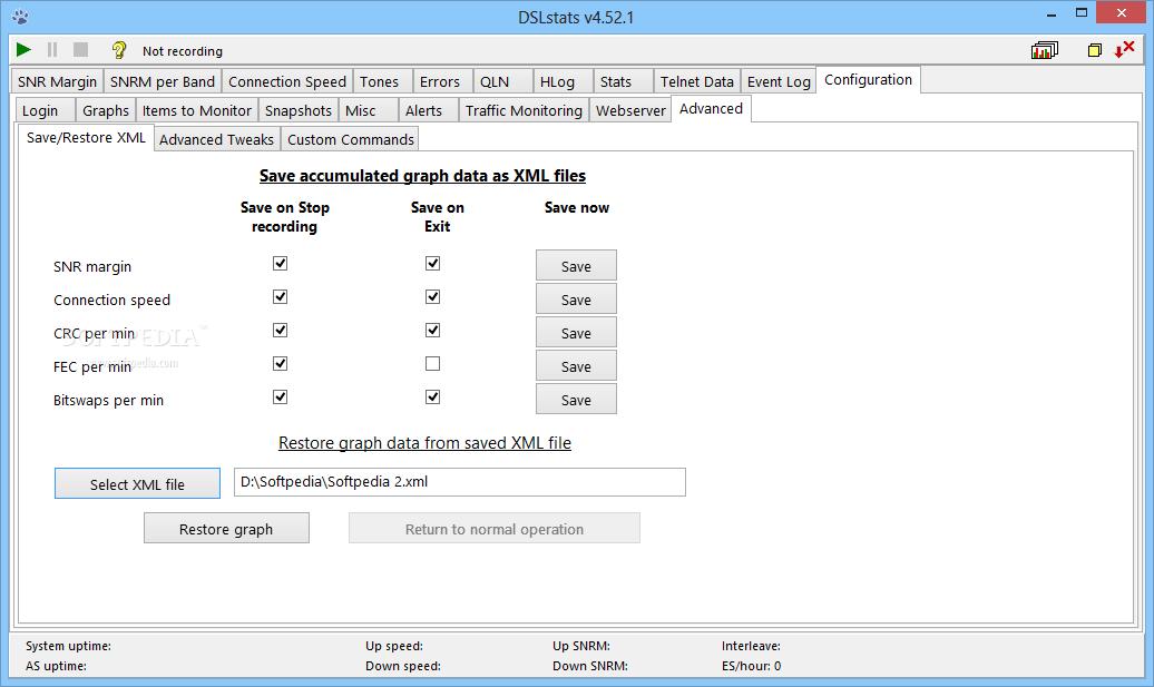 Download DSLstats 6 5 / 6 5 9 Pre-release