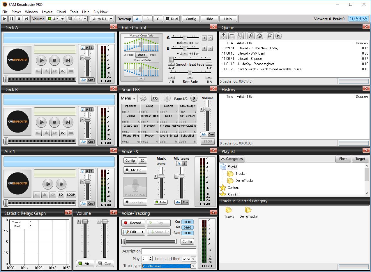 Download SAM Broadcaster PRO 2020.4