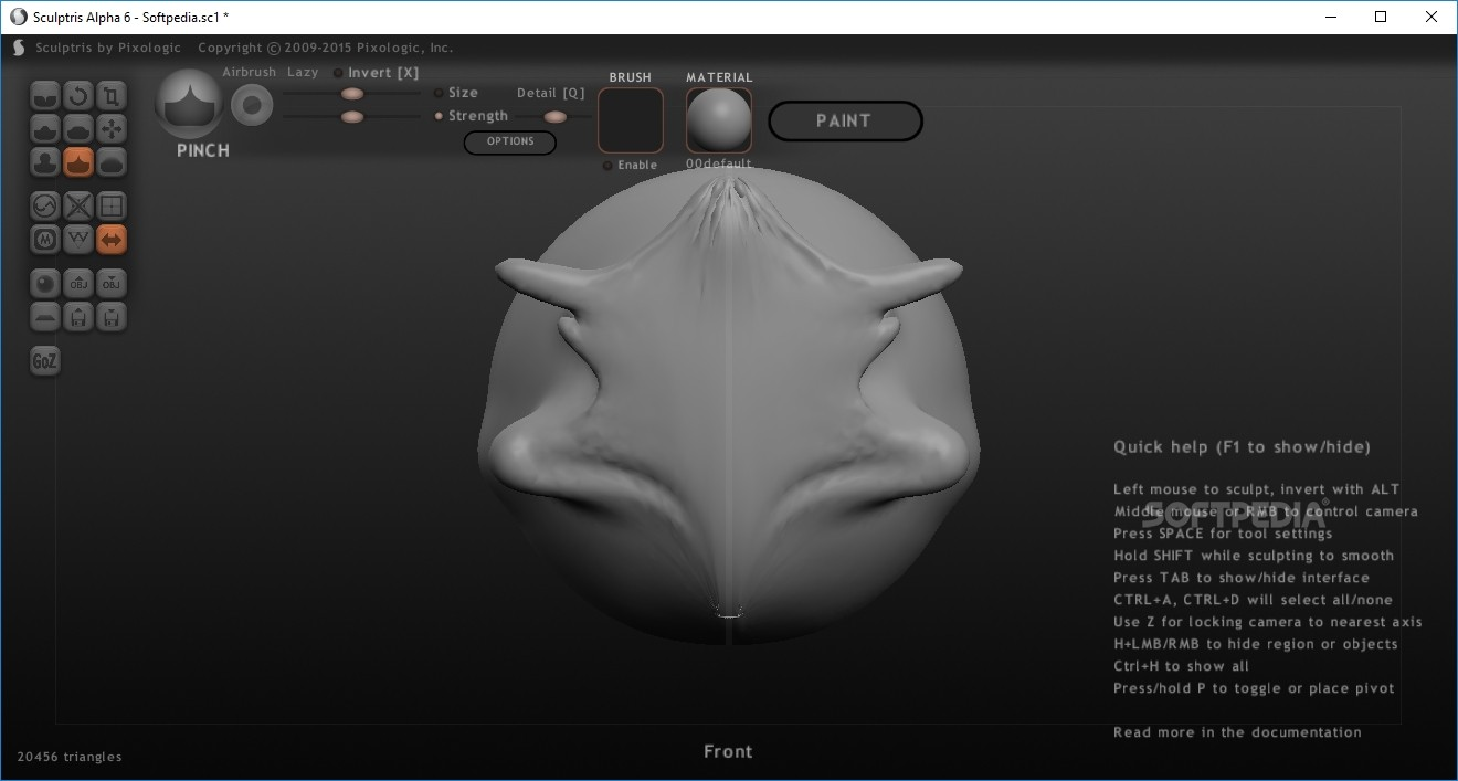 Download Sculptris Alpha 6