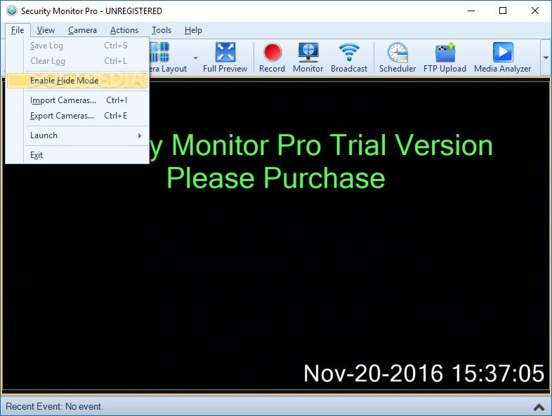 security monitor pro 5.42 gratuit