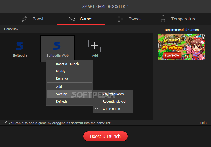 Download Smart Game Booster 4 1 0 3081