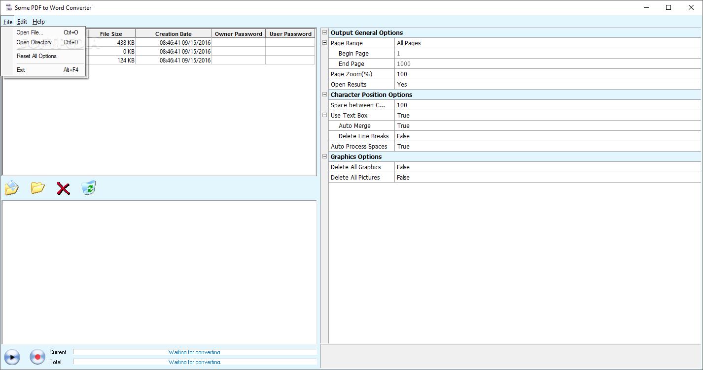 pdf to word converter setup