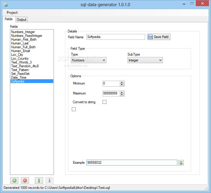 Download sql-data-generator 1 0 1 0 Beta
